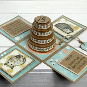 18 urodziny - exploding box (box20)