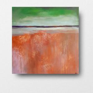Abstrakcja-obraz akrylowy 50/50 cm