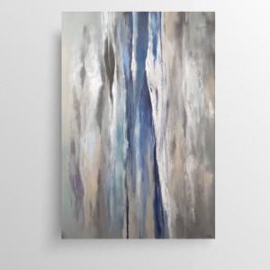 Abstrakcja  -obraz akrylowy 50/70 cm