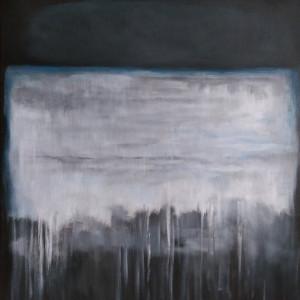 Abstrakcja -obraz akrylowy formatu 50/70 cm