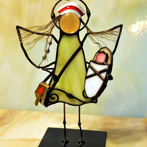 Aniołek położna z bobo
