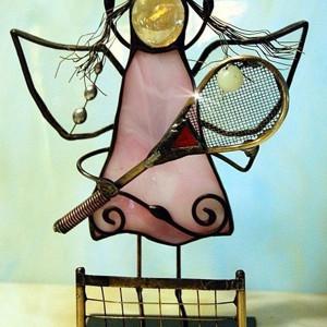 Aniołek tenisistka/tenisista