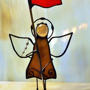 Aniołek z flagą