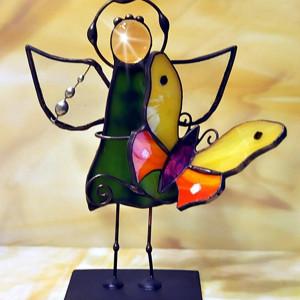 Aniołek z motylkiem