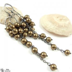 Antyczne perły - kolczyki