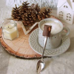 Apetyczna łyżeczka deserowa Milka Toffi