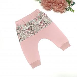 Baggy -spodnie z falbankami