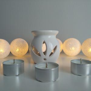 bezzapachowe podgrzewacze tealight - 4 sztuki
