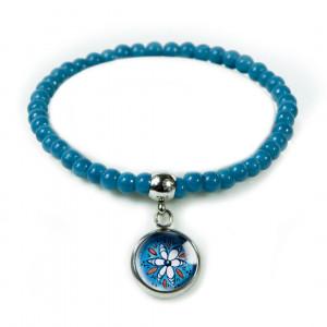 Blue Folk bransoletka z koralików