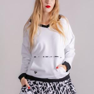 Bluza basic fresh white