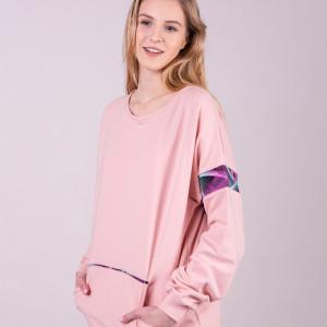 Bluza damska basic różowa