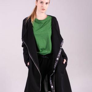 Bluza długa dresowa z zipem z tyłu Margos