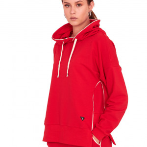 Bluza dresowa Style czerwona