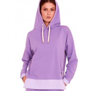 Bluza dresowa Style fioletowa