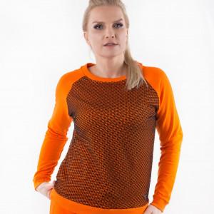 Bluza orange w kolorze pomarańczy