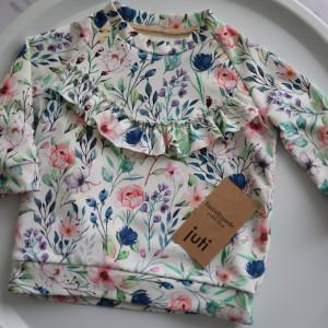 Bluza WIOSENNE KWIATY rozm. 68-86