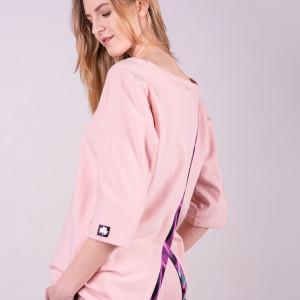 Bluzka damska dresowa ANNA-Róż
