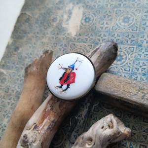 Bosch Hieronim, fantastyczne stwory, porcelana