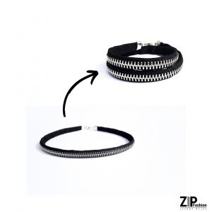 Bransoletka lub choker - biżuteria 2w1