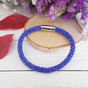 Bransoletka Mono niebieska rainbow