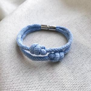 Bransoletka Nodo - Błękit