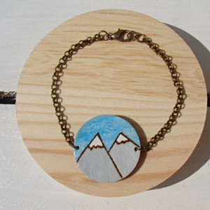 bransoletka z górami