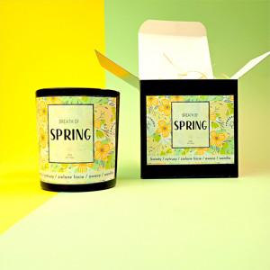 BREATH OF SPRING świeca sojowa, zapachowa
