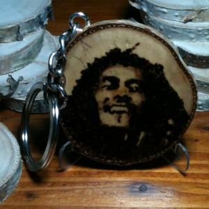 Brelok z plasterka - Bob Marley