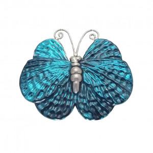 Broszka morski motyl -emaliowane srebro pr925