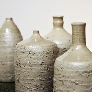 Butelka/wazon z surowym wykończeniem