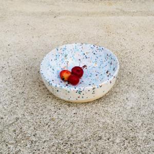 Ceramiczna miska w kropeczki 2