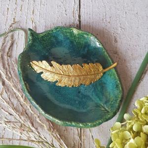 Ceramiczna podstawka na biżuterię