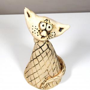 Ceramiczny kocur