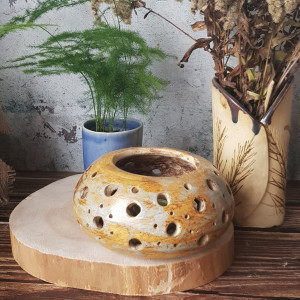 Ceramiczny lampion boho