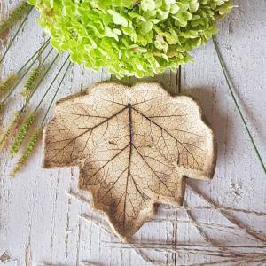 Ceramiczny liść seria Natura