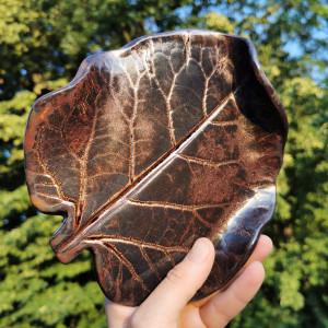 Ceramiczny talerzyk liść (c284)