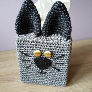 Chustecznik kwadratowy kot