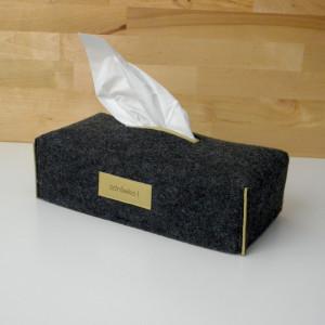 chustecznik z filcu /filcowe etui na chusteczki cs
