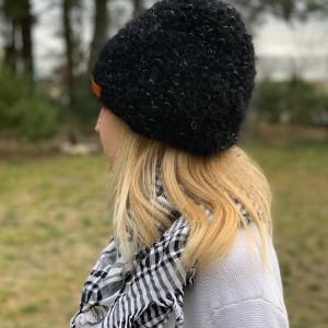 ciepła czapka melanż
