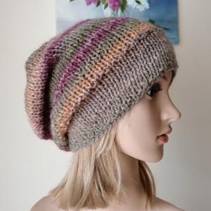Ciepłe pastele czapka
