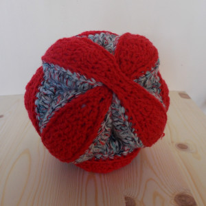 Crochet puzzle ball - 20 cm