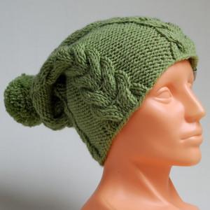 Czapka zielona - khaki