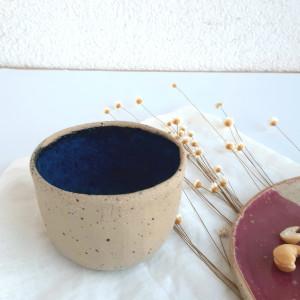 Czarka do herbaty mała blue