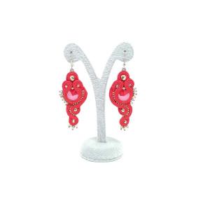 Czerwone kolczyki royal red - kolekcja Lady in Red