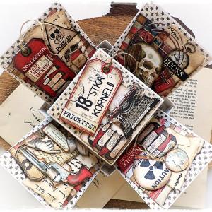 Czytelniczy box - pudełko urodzinowe