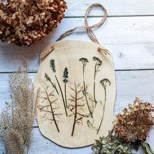 Dekor prosto z łąki