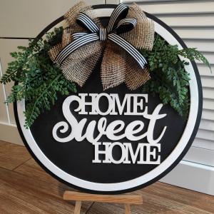 Dekoracja na drzwi lub ścianę Home Sweet Home