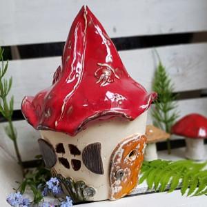 Dekoracyjny domek, domek dla skrzatów