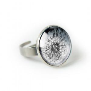Dmuchawiec pierścionek z ilustracją