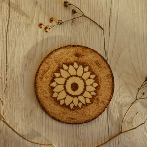 drewniana podkładka